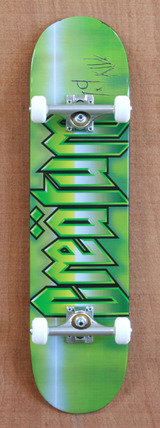 "Creature Cold Steel Powerply 7.9"" Skateboard Complete"