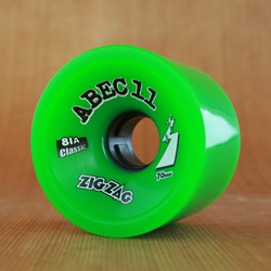 Abec11 Classic ZigZags 70mm 81a Wheels - Green