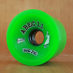 Abec11 Classic BigZigs 75mm 81a Wheels - Green
