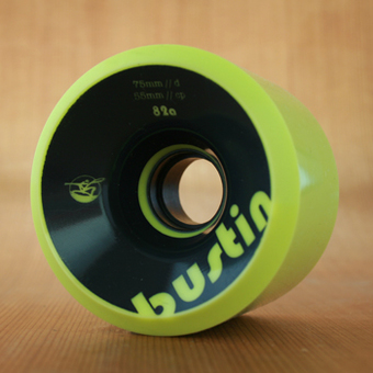 Bustin Boca 75mm 82a Wheels - Yellow