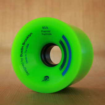 Bustin Premier Formula 70mm 82a Wheels - Green