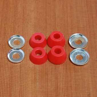 Independent Standard Soft 88a Bushings - Red