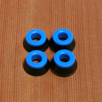 Bones Soft Bushings - Black/Blue
