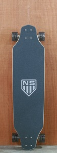 "Never Summer 39"" Soldier Top Mount Longboard Complete"