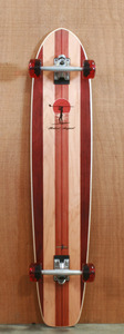 "Surf One 43.875"" Robert August 2 Longboard Complete"