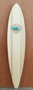 "Sector 9 46"" Bamboo Honolua Longboard Deck"