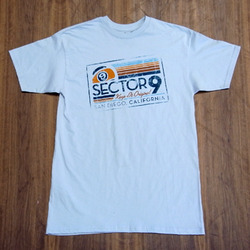 Sector 9 Keep It Original Silver T-Shirt
