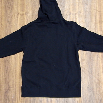Sector 9 Vinyl Zip-Up Black Sweatshirt