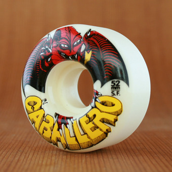 Powell 52mm SF Cab Dragon White Wheels
