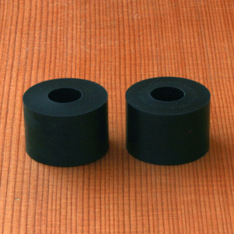 Bear Barrel 85a Black Bushings