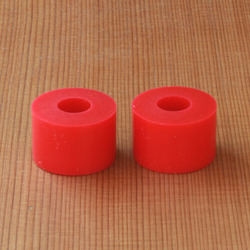 Bear Barrel 90a Bushings - Red