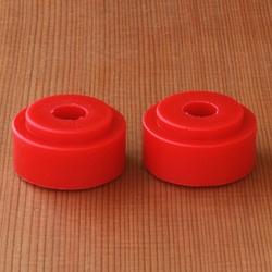 Bear Stepped Barrel 90a Bushings - Red
