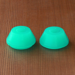 Bear Stepped Cone 60a Teal Bushings