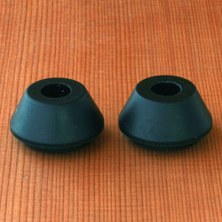 Bear Stepped Cone 85a Bushings - Black